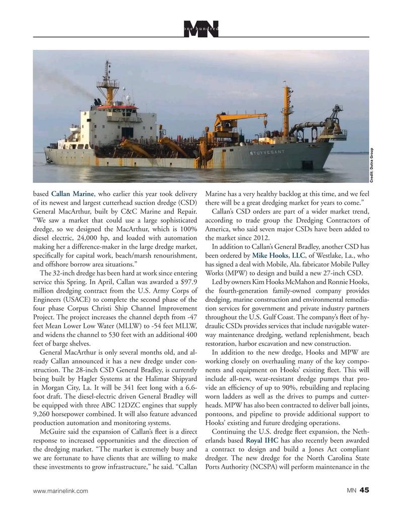 Marine News Magazine, page 45,  Aug 2020