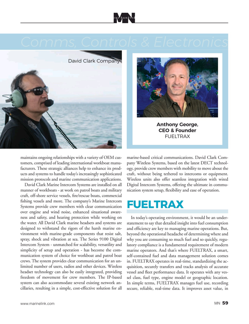 Marine News Magazine, page 59,  Aug 2020