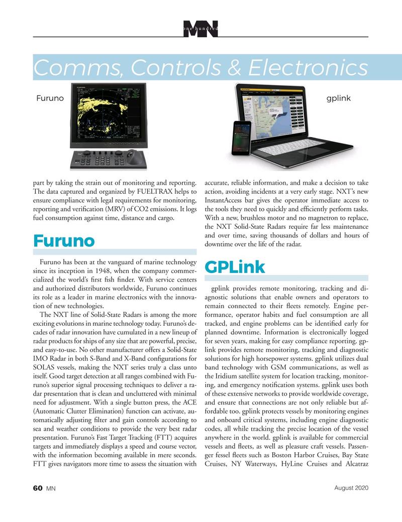 Marine News Magazine, page 60,  Aug 2020