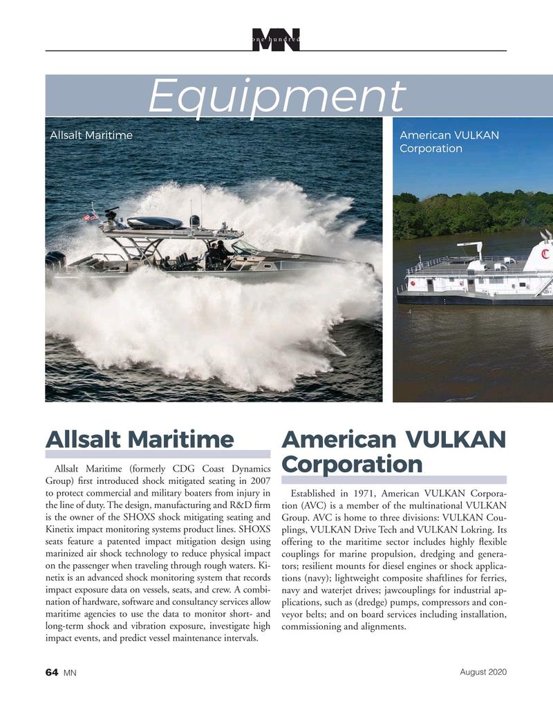Marine News Magazine, page 64,  Aug 2020
