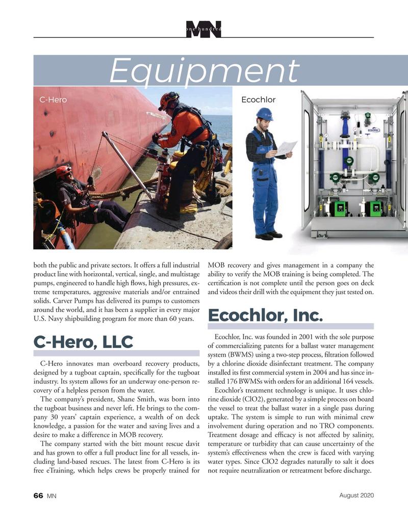 Marine News Magazine, page 66,  Aug 2020