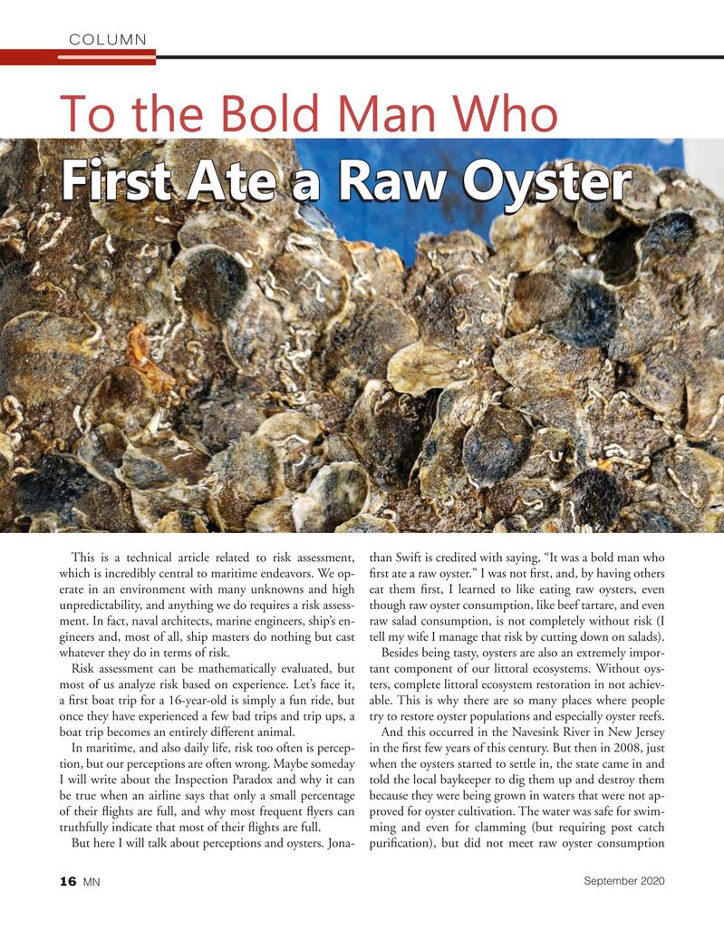Marine News Magazine, page 16,  Sep 2020