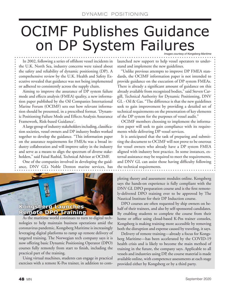 Marine News Magazine, page 48,  Sep 2020