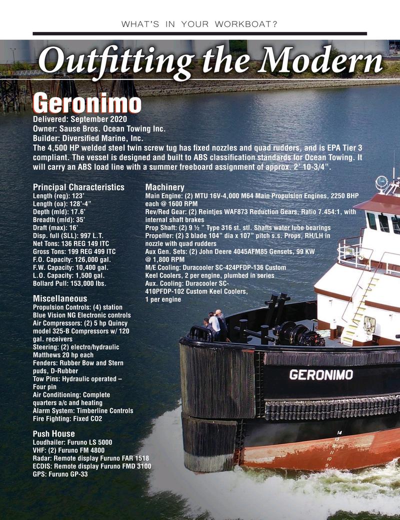 Marine News Magazine, page 36,  Nov 2020