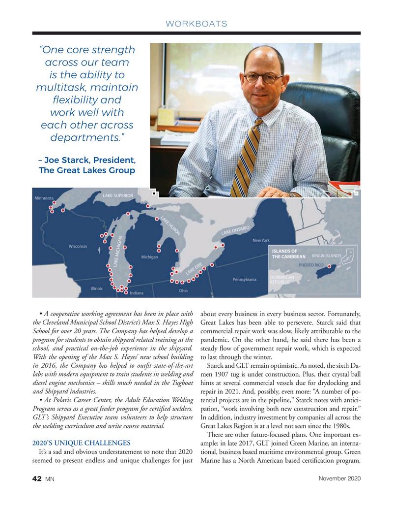 Marine News Magazine, page 42,  Nov 2020