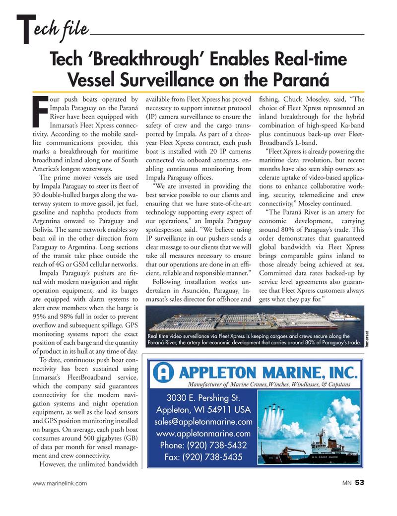 Marine News Magazine, page 53,  Nov 2020