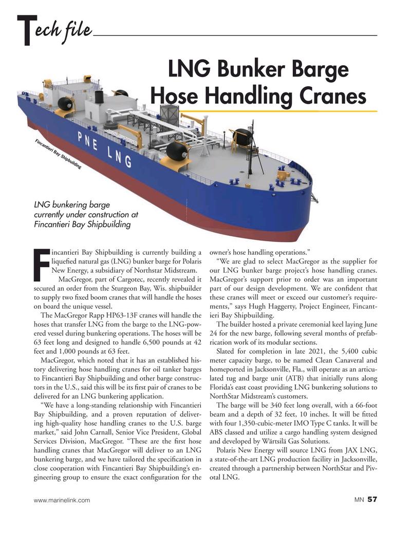 Marine News Magazine, page 57,  Nov 2020