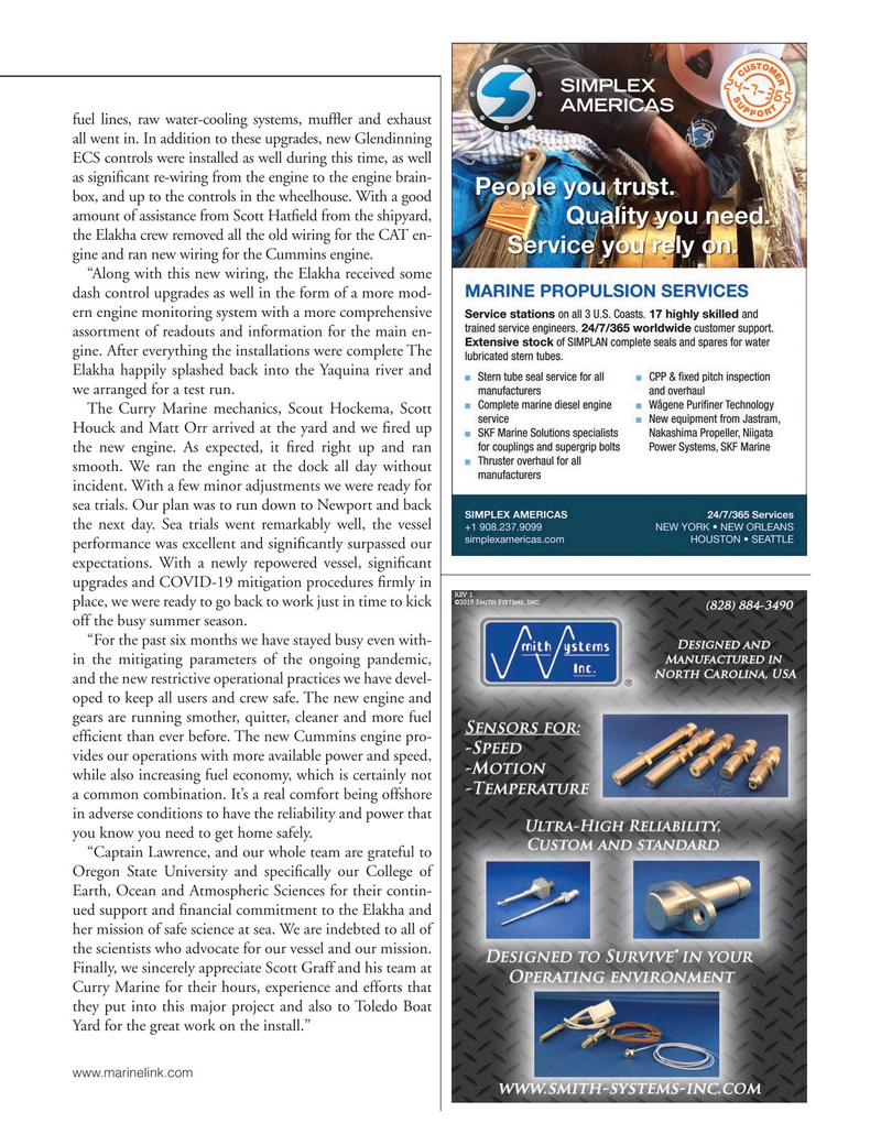 Marine News Magazine, page 59,  Nov 2020