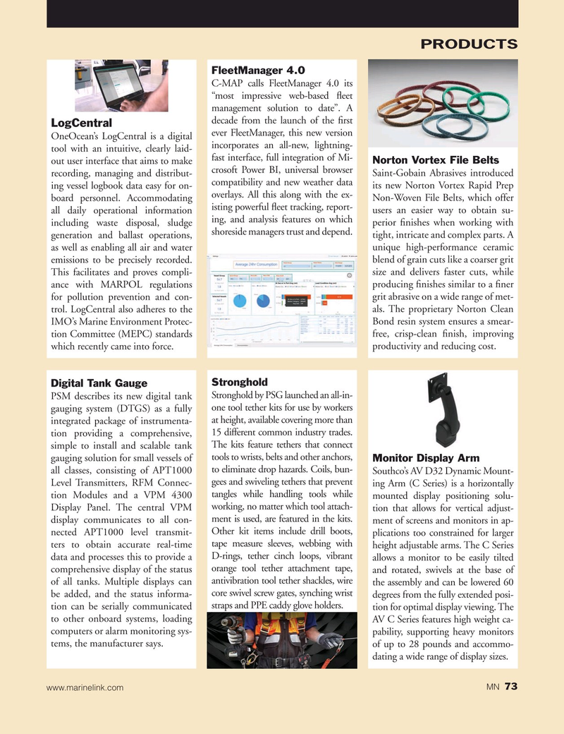 Marine News Magazine, page 73,  Nov 2020
