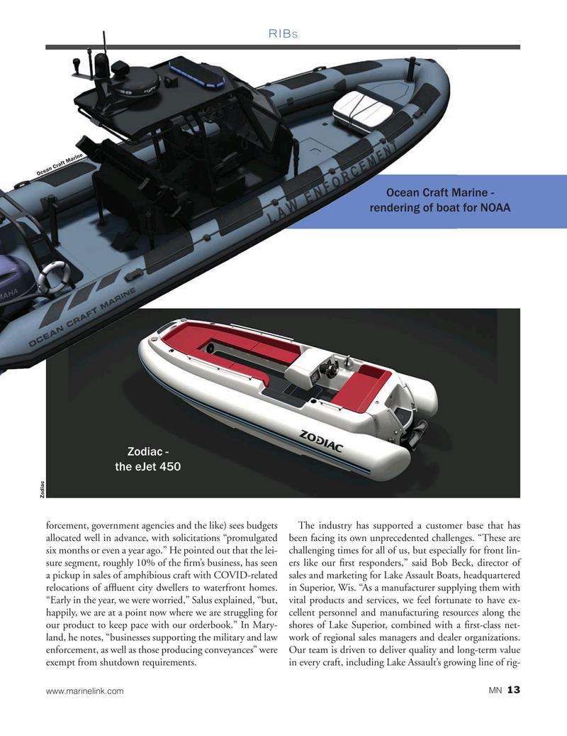 Marine News Magazine, page 13,  Dec 2020
