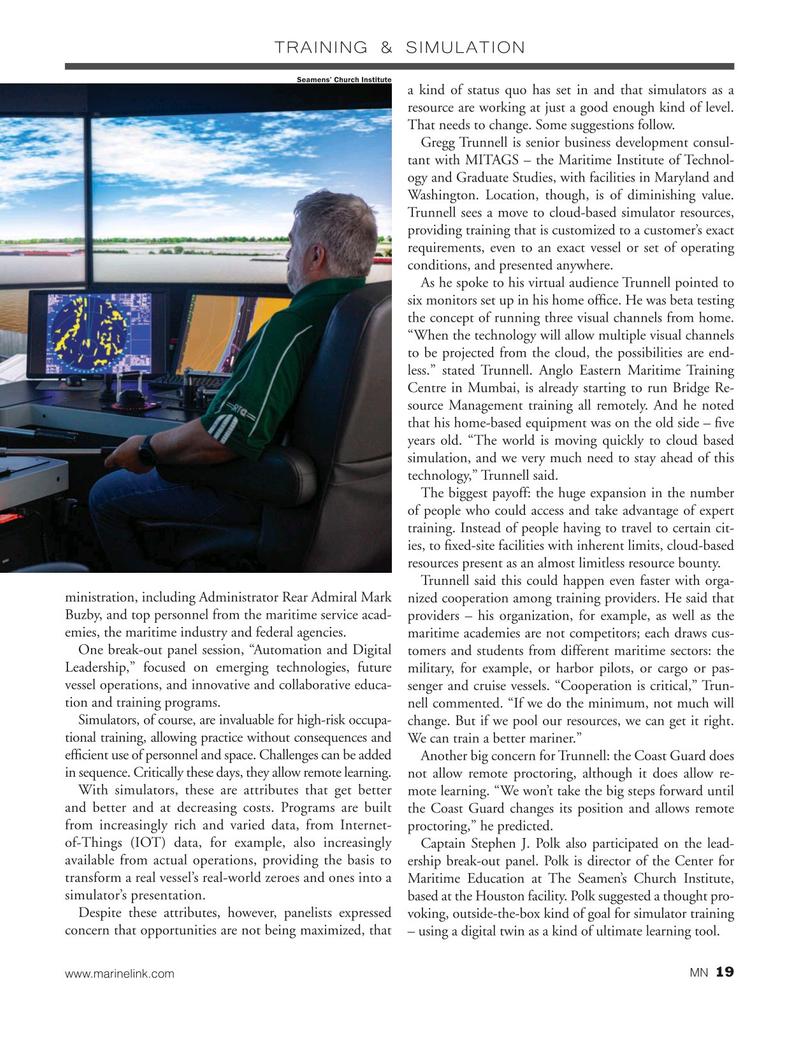 Marine News Magazine, page 19,  Dec 2020