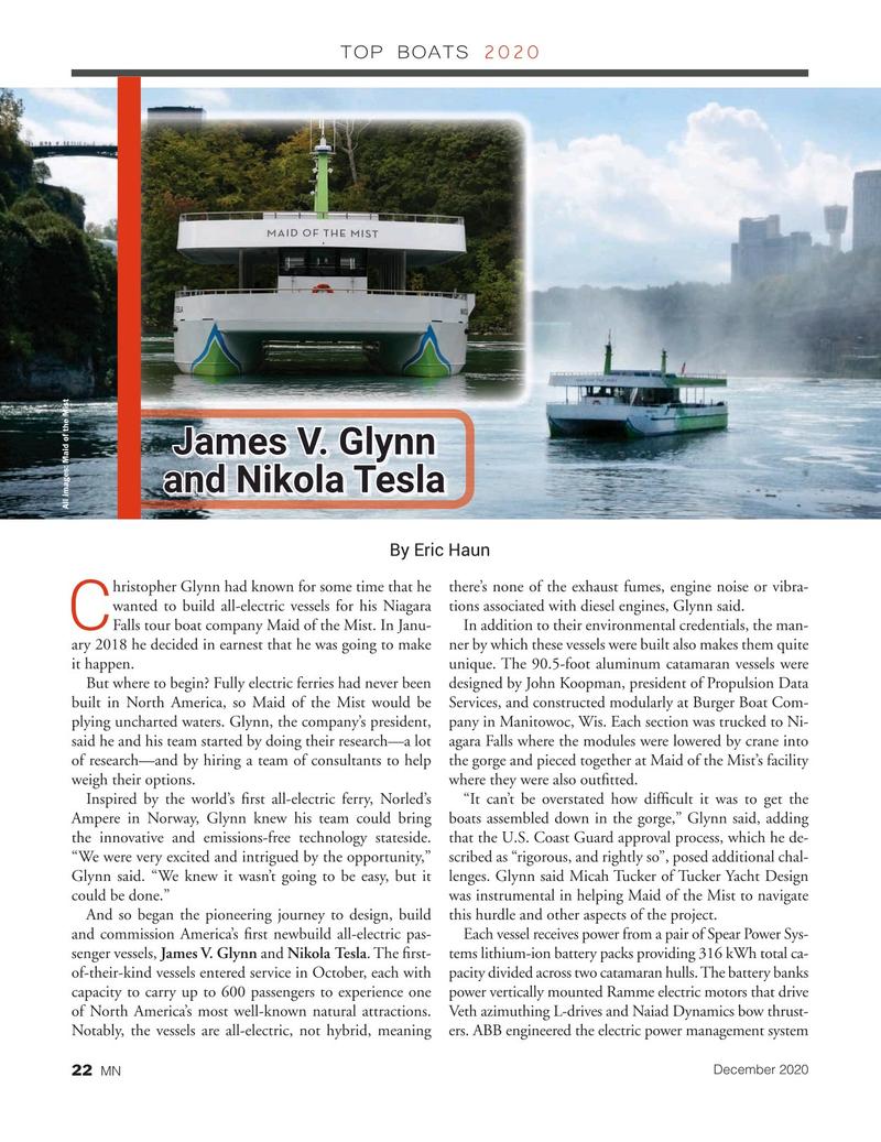 Marine News Magazine, page 22,  Dec 2020