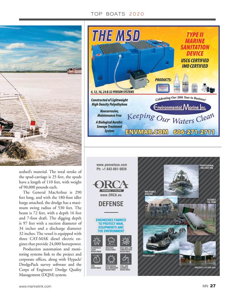 Marine News Magazine, page 27,  Dec 2020