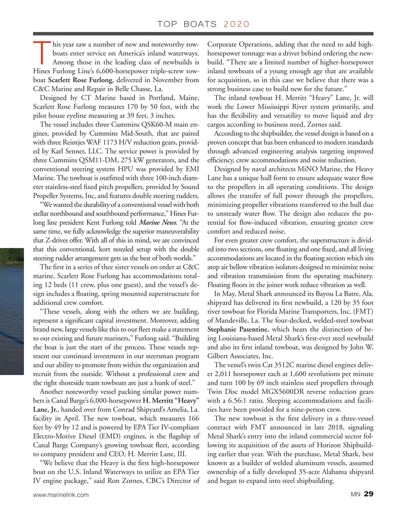 Marine News Magazine, page 29,  Dec 2020