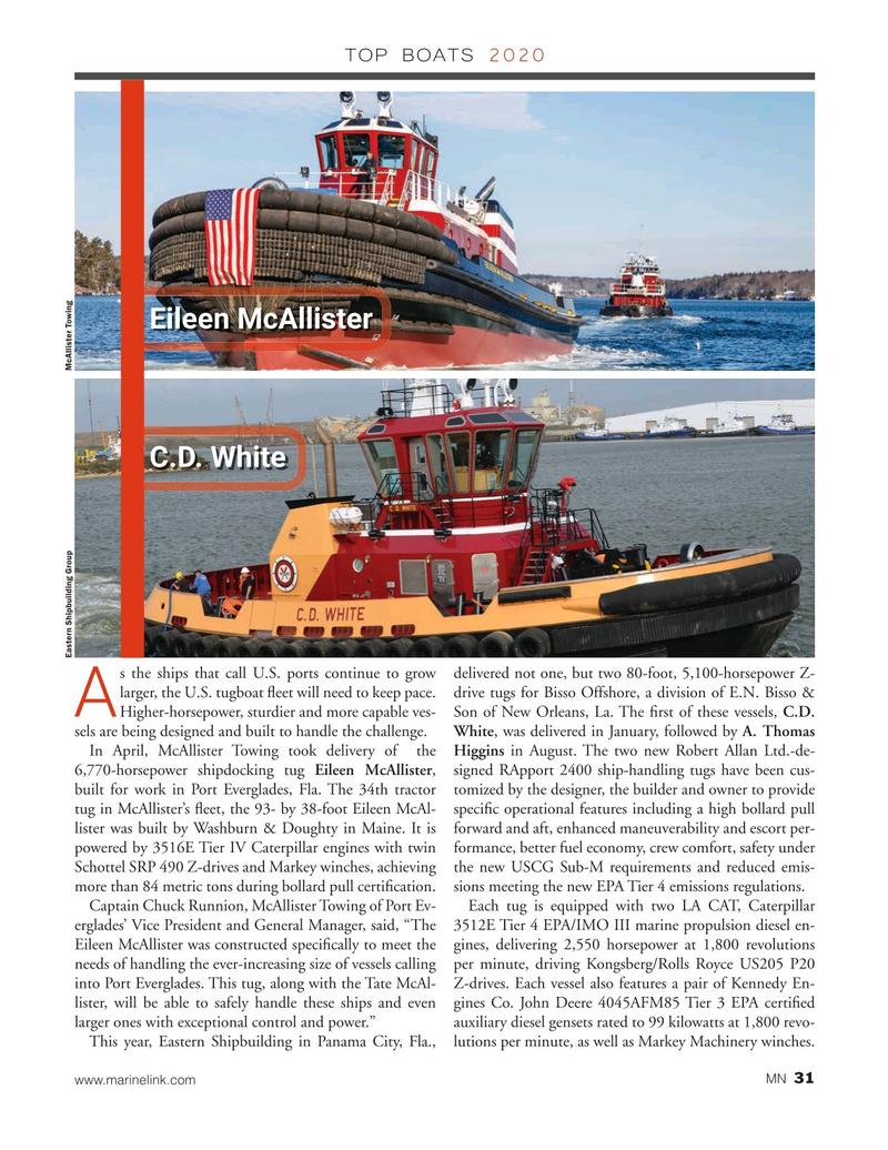 Marine News Magazine, page 31,  Dec 2020
