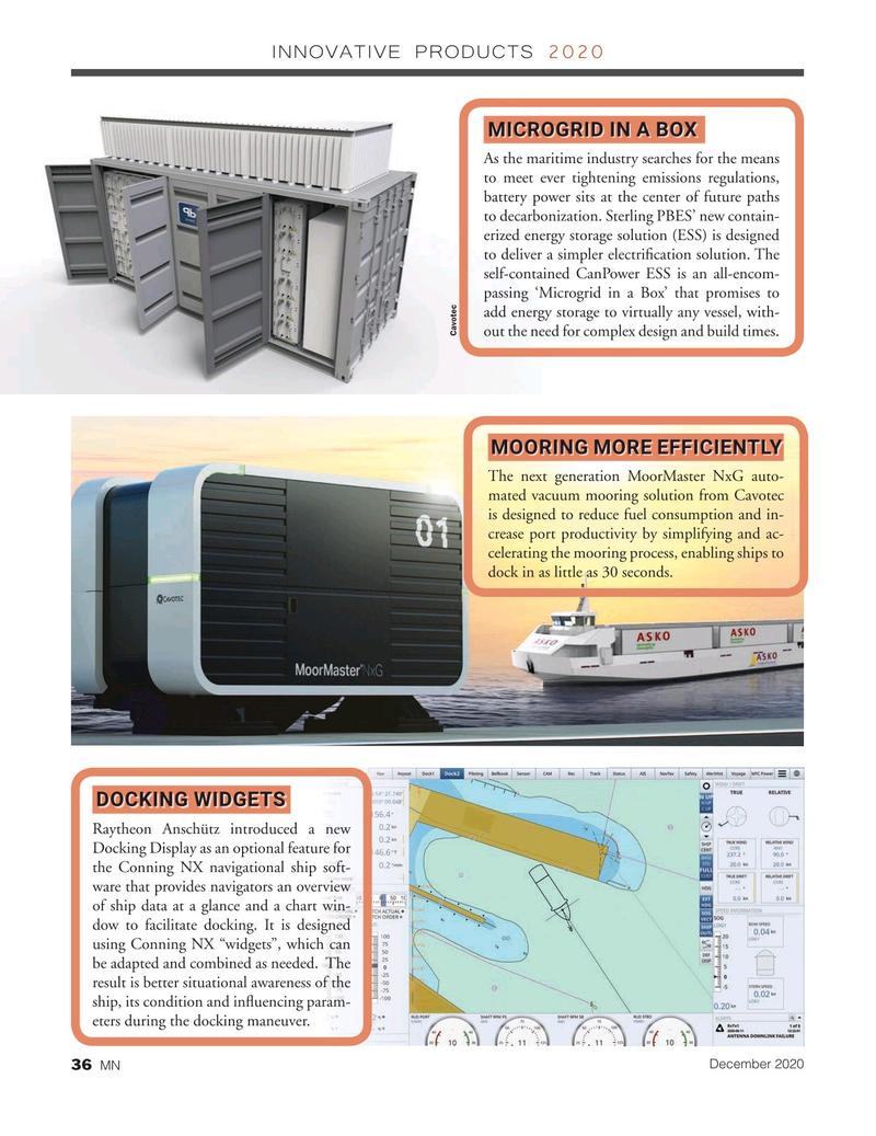 Marine News Magazine, page 36,  Dec 2020