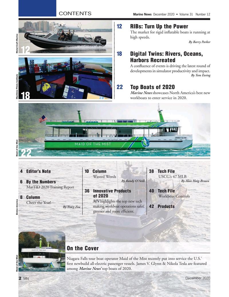 Marine News Magazine, page 2,  Dec 2020