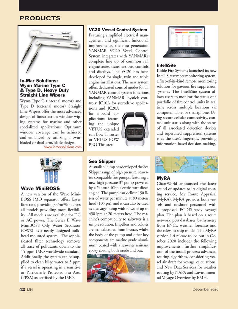 Marine News Magazine, page 42,  Dec 2020