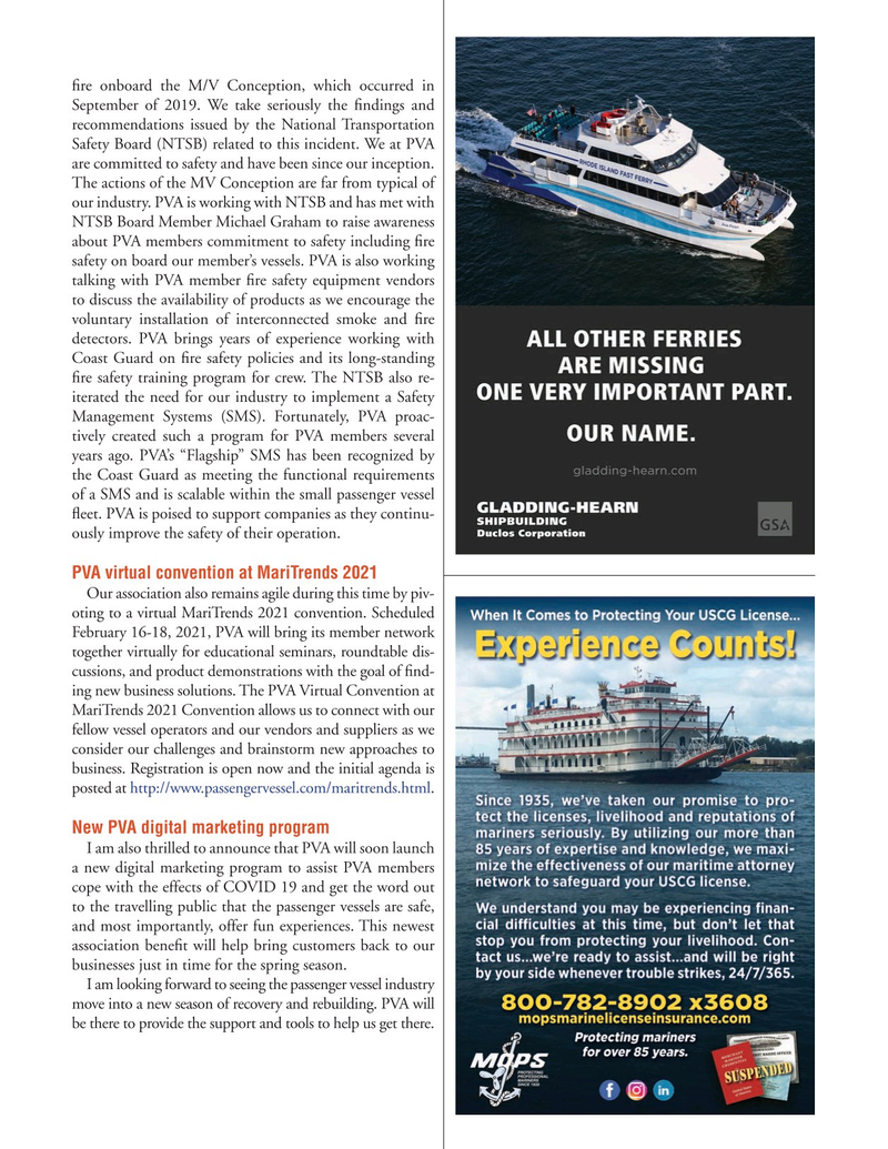 Marine News Magazine, page 23,  Jan 2021