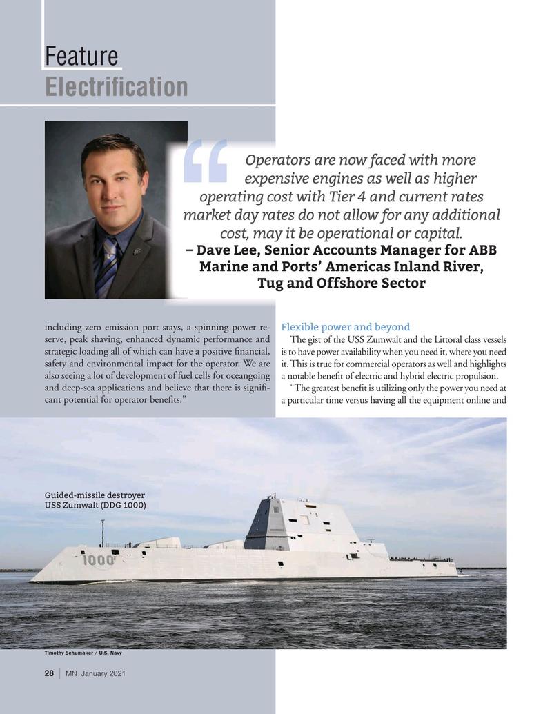 Marine News Magazine, page 28,  Jan 2021