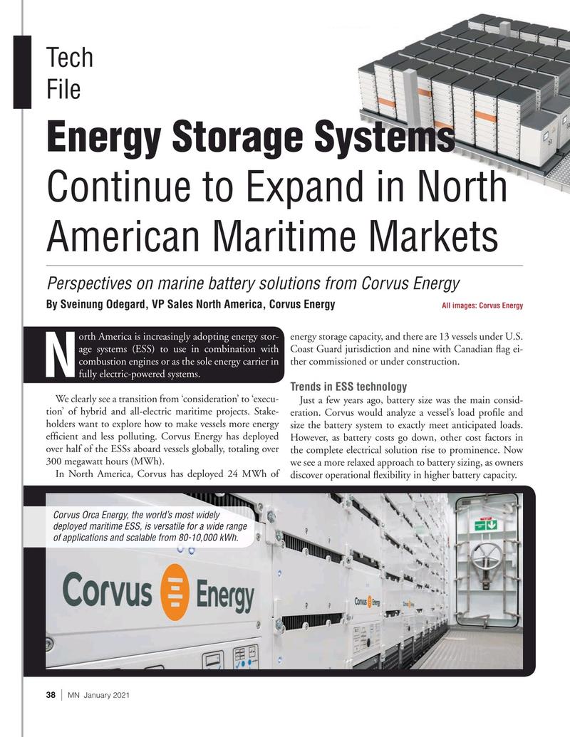 Marine News Magazine, page 38,  Jan 2021
