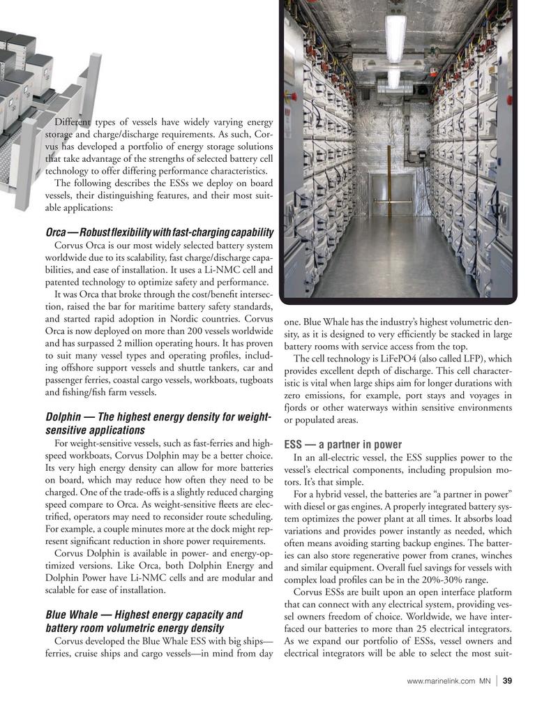 Marine News Magazine, page 39,  Jan 2021