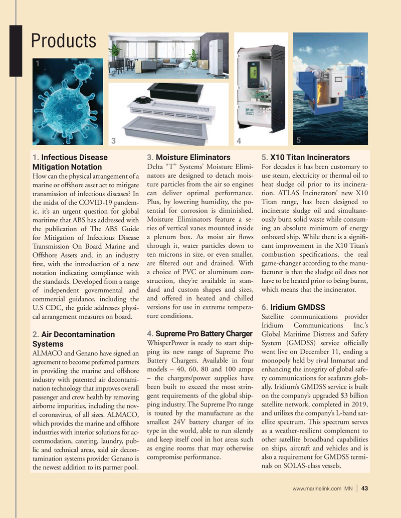 Marine News Magazine, page 43,  Jan 2021