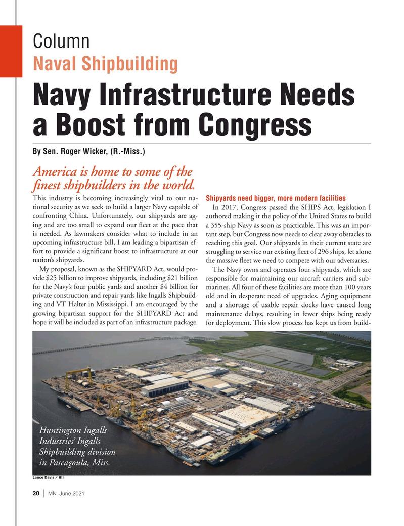 Marine News Magazine, page 20,  Jun 2021