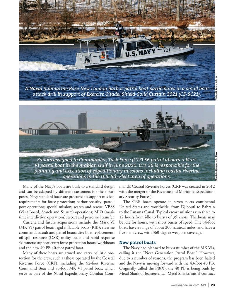 Marine News Magazine, page 23,  Jun 2021
