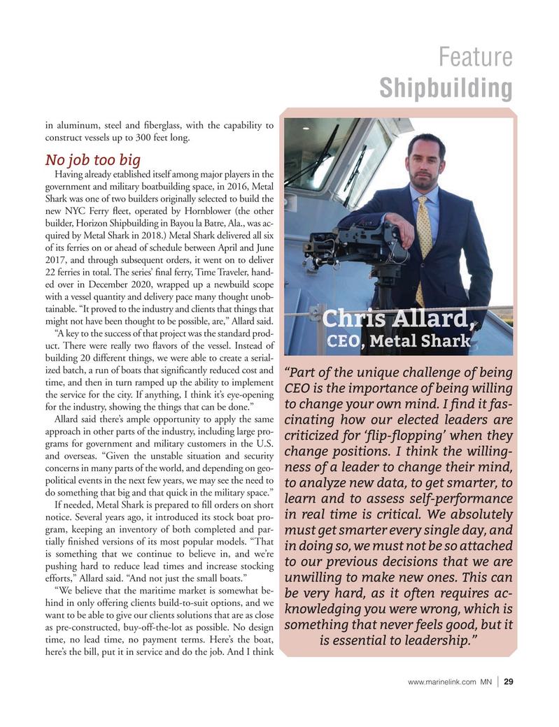 Marine News Magazine, page 29,  Jun 2021