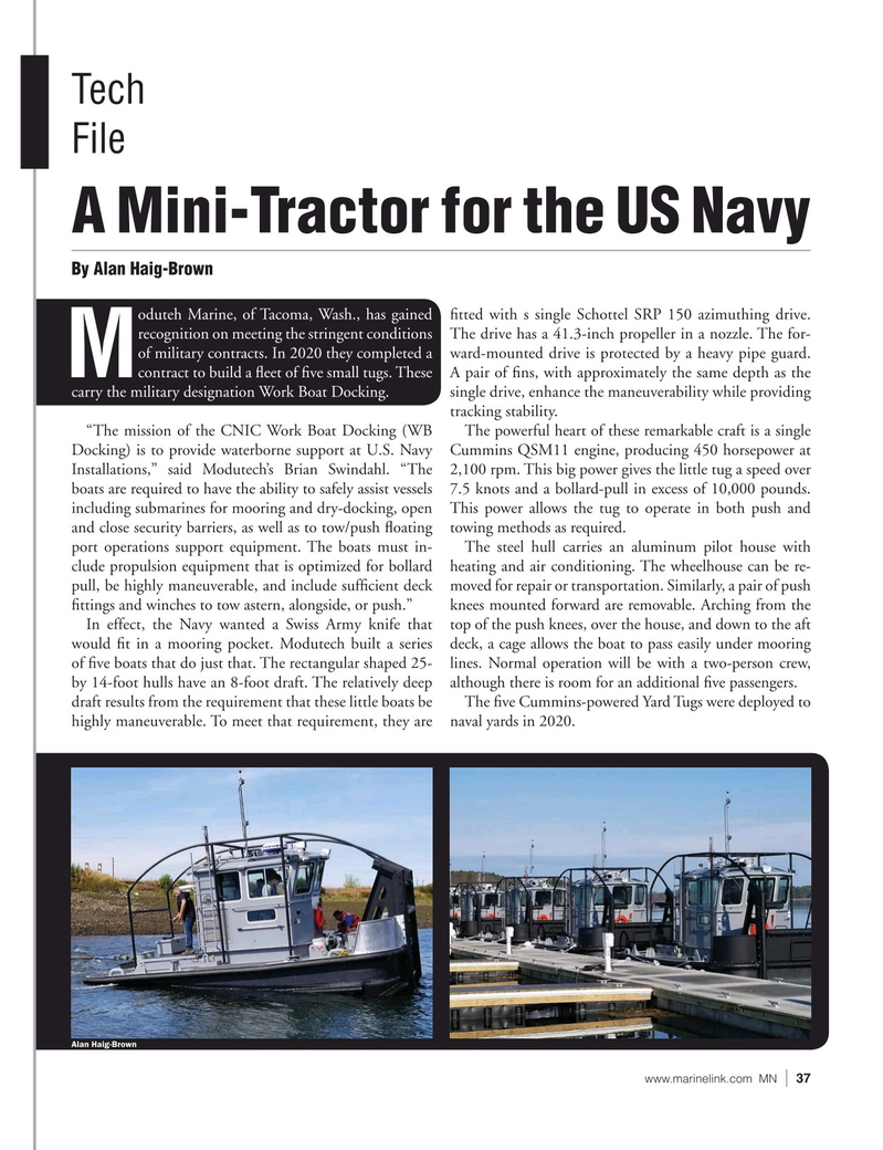Marine News Magazine, page 37,  Jun 2021