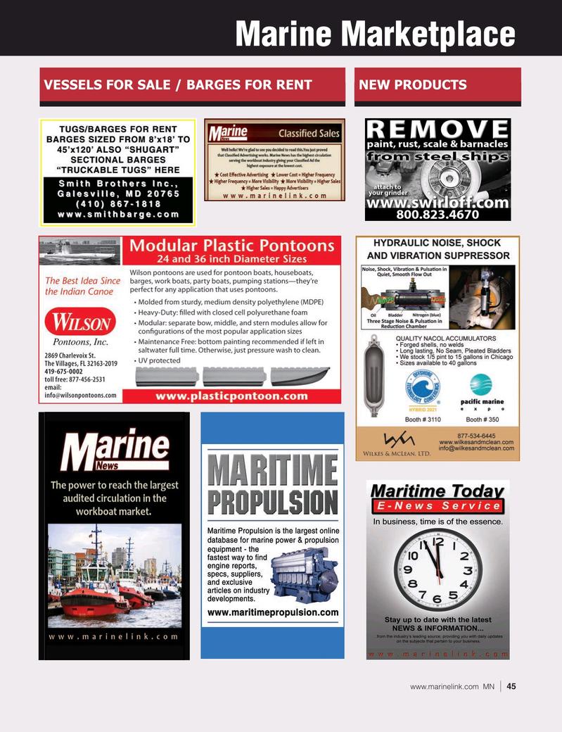 Marine News Magazine, page 45,  Jun 2021