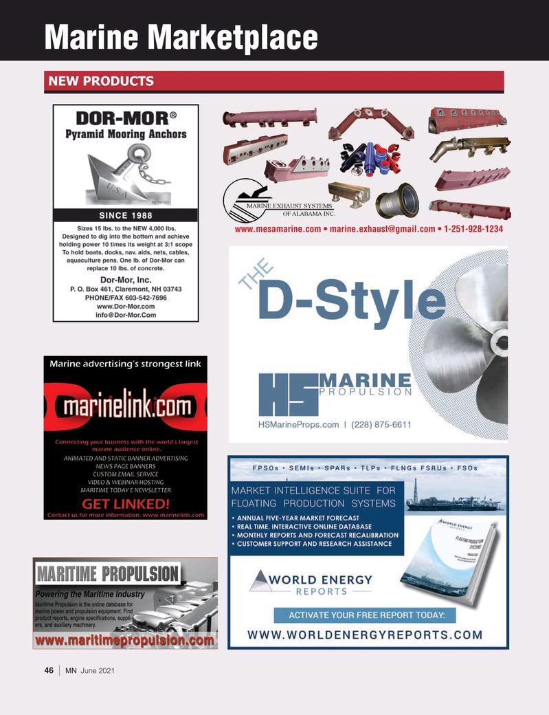 Marine News Magazine, page 46,  Jun 2021