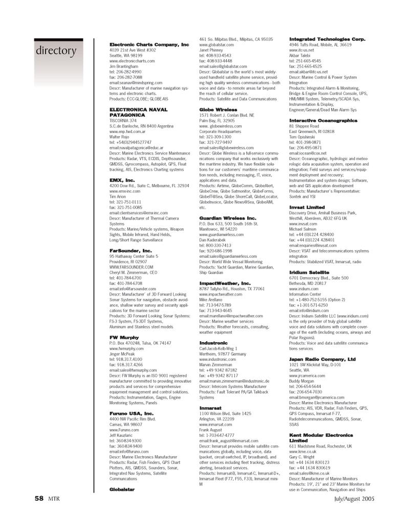 circuit-switched, Marine Technology Magazine July 2005 #57