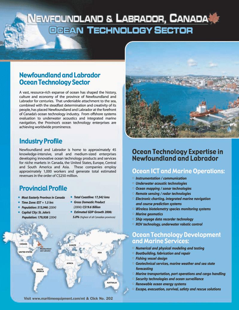 Marine Technology Magazine, page 31,  Mar 2006