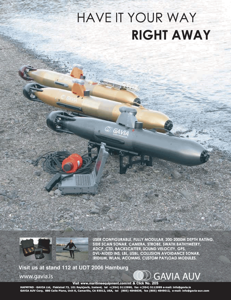 Marine Technology Magazine, page 1,  Jun 2006