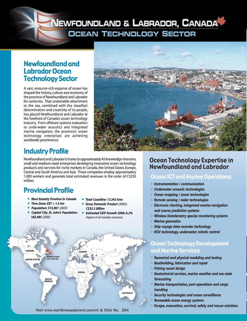 Marine Technology Magazine, page 32,  Jun 2006
