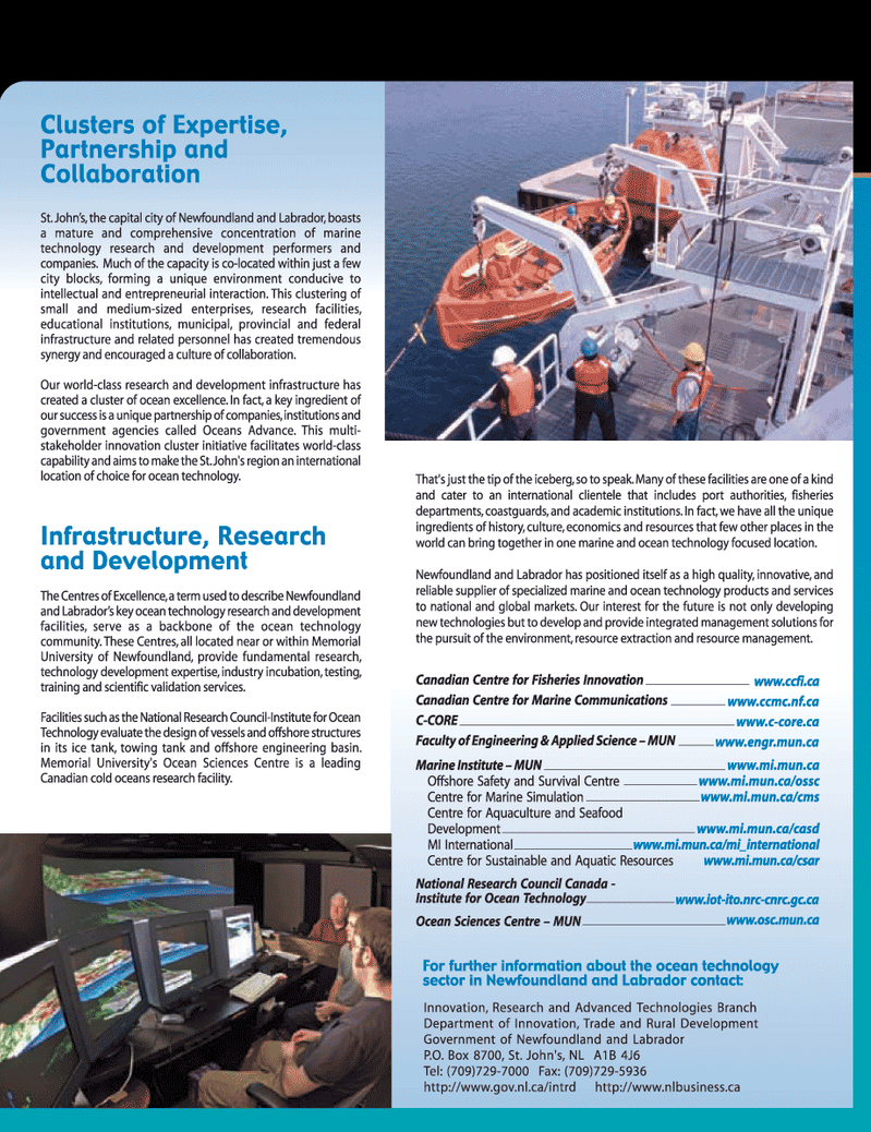 Marine Technology Magazine, page 33,  Jun 2006