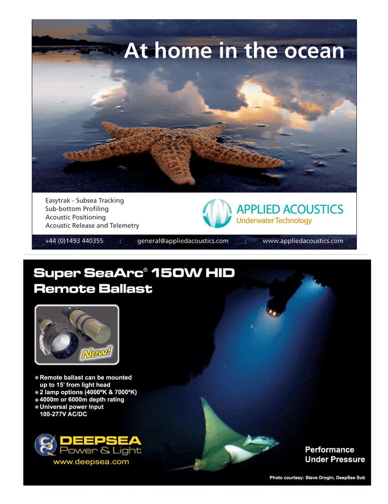 Marine Technology Magazine, page 9,  May 2008