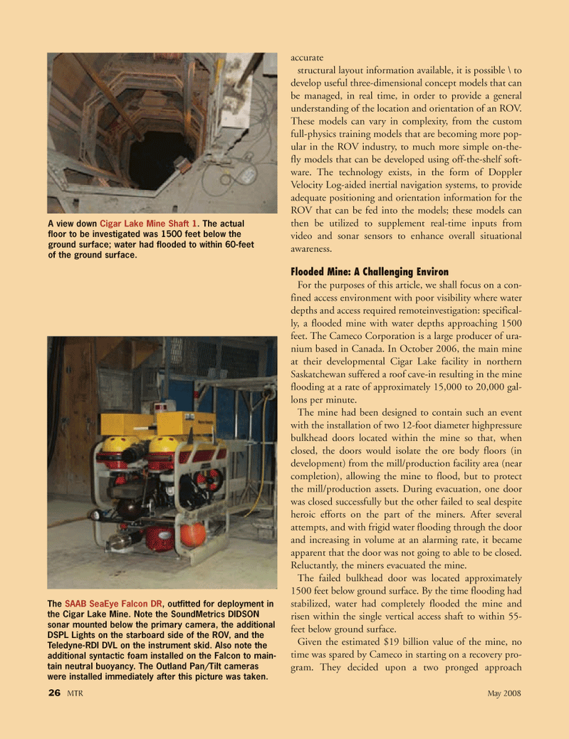 Marine Technology Magazine, page 26,  May 2008 US Federal Reserve