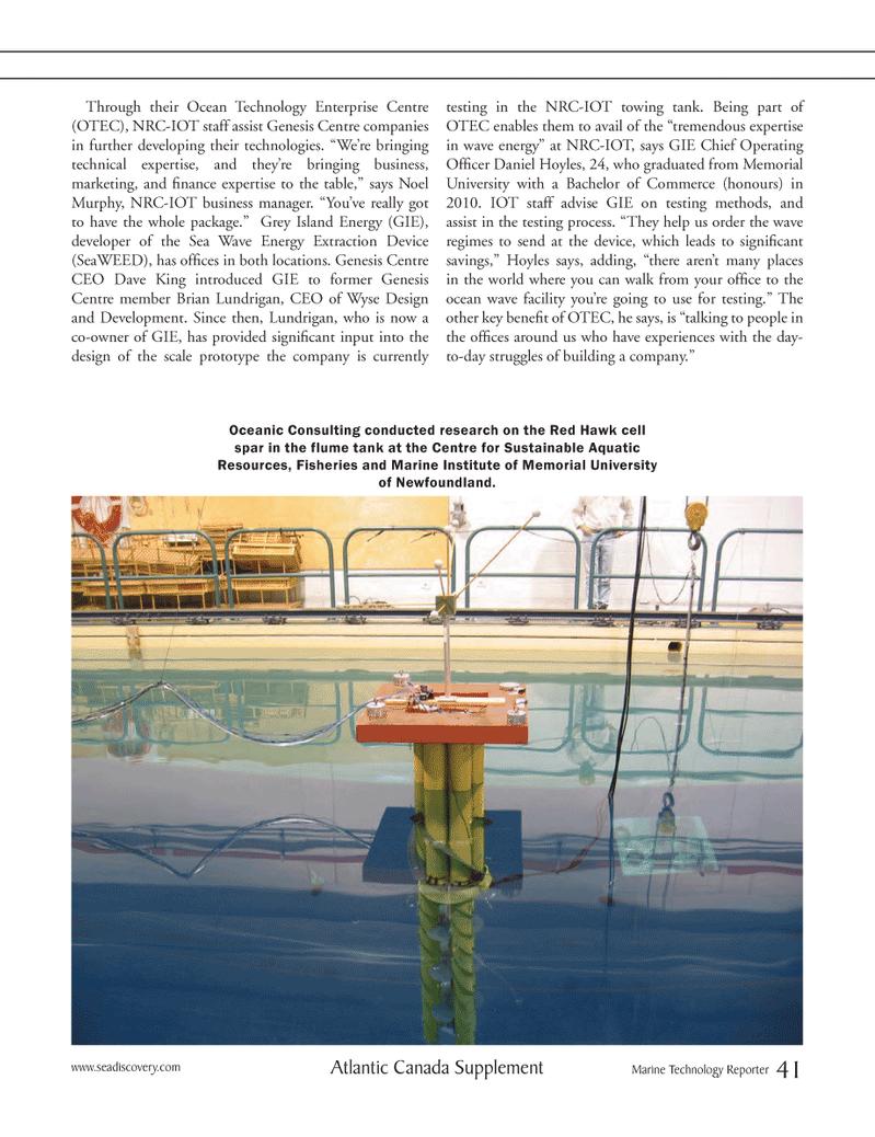Marine Technology Magazine, page 41,  Mar 2012