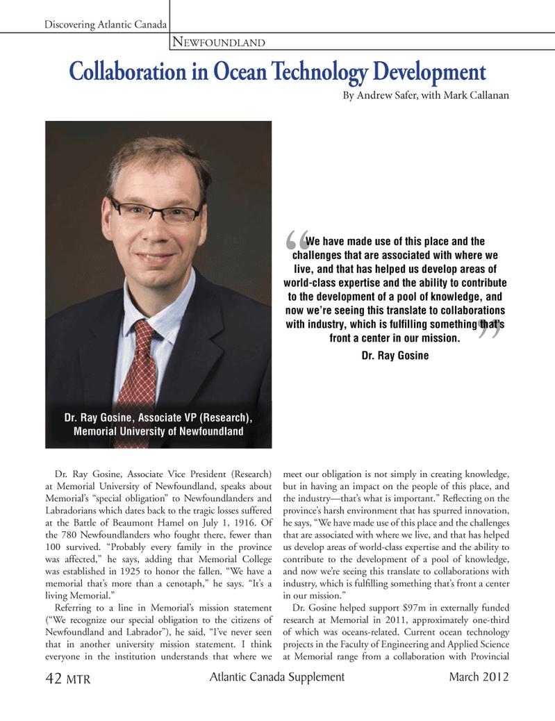 Marine Technology Magazine, page 42,  Mar 2012