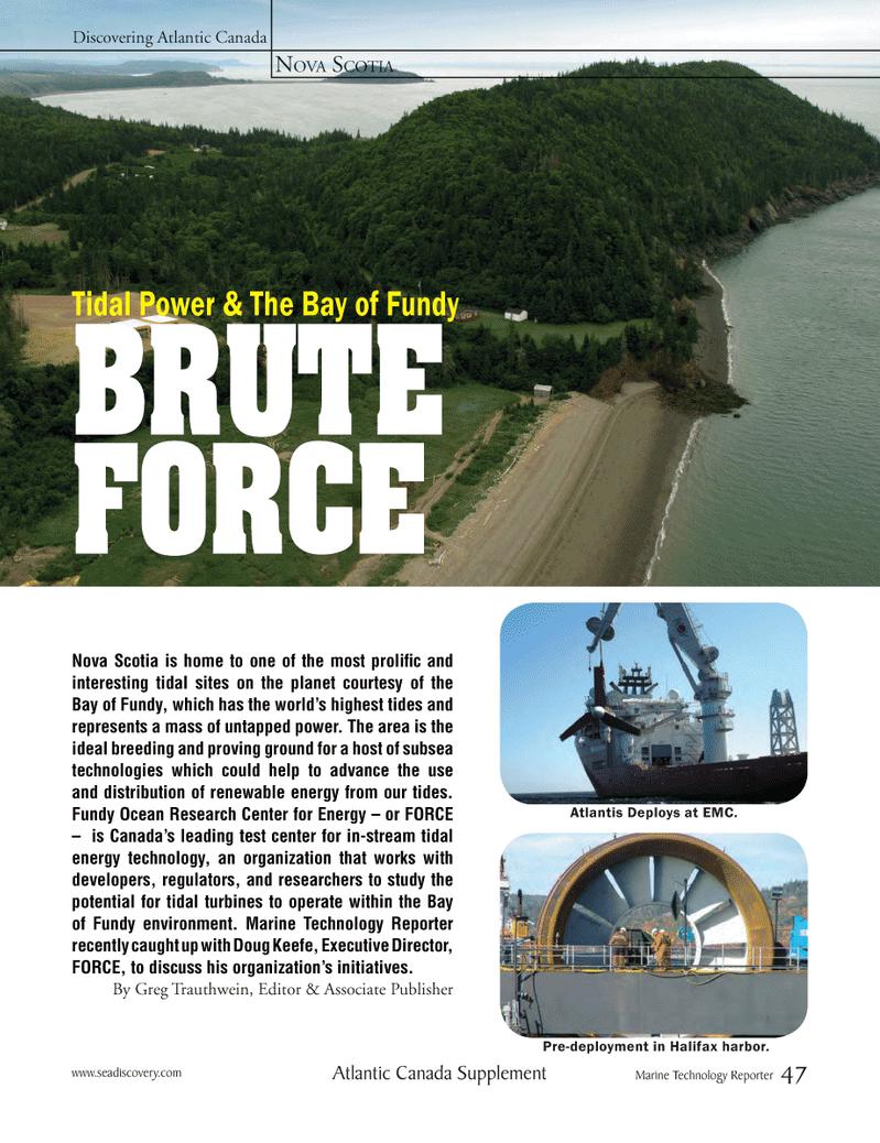 Marine Technology Magazine, page 47,  Mar 2012