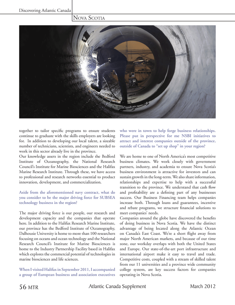 Marine Technology Magazine, page 56,  Mar 2012