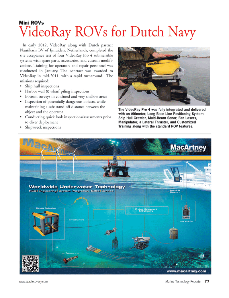 Marine Technology Magazine, page 77,  Mar 2012
