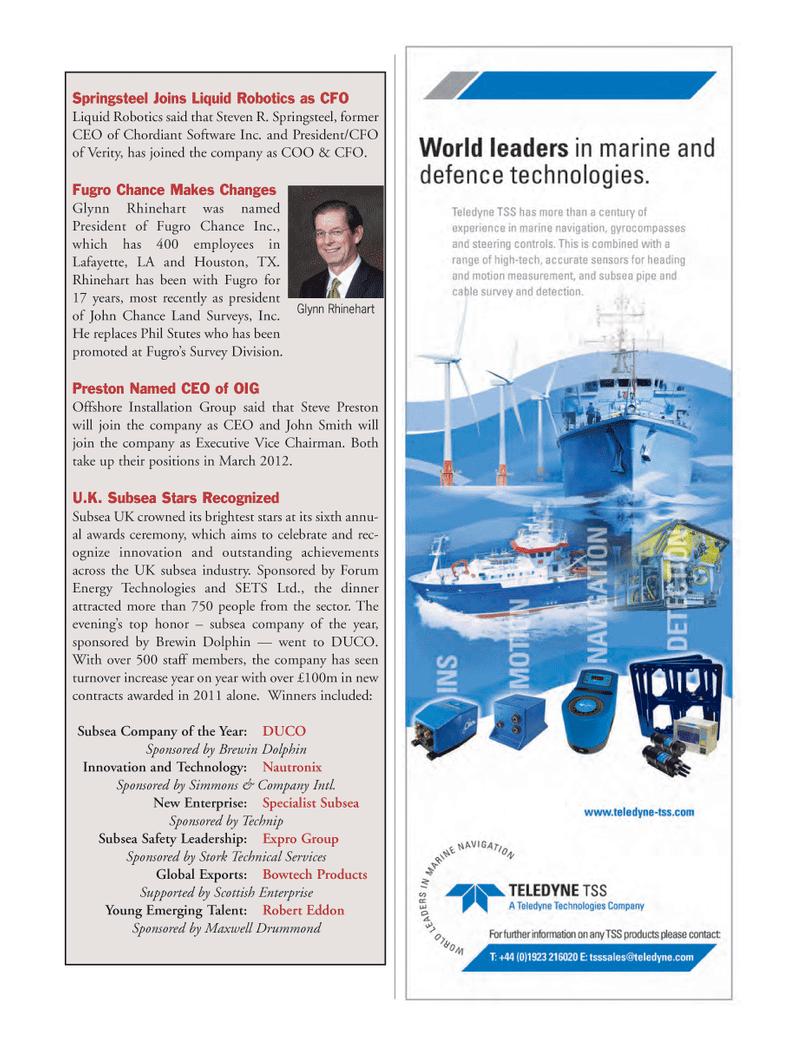 Marine Technology Magazine, page 79,  Mar 2012