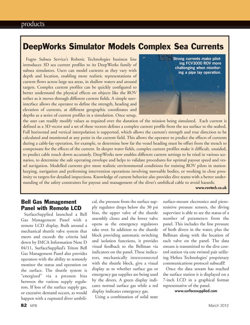 Marine Technology Magazine, page 82,  Mar 2012