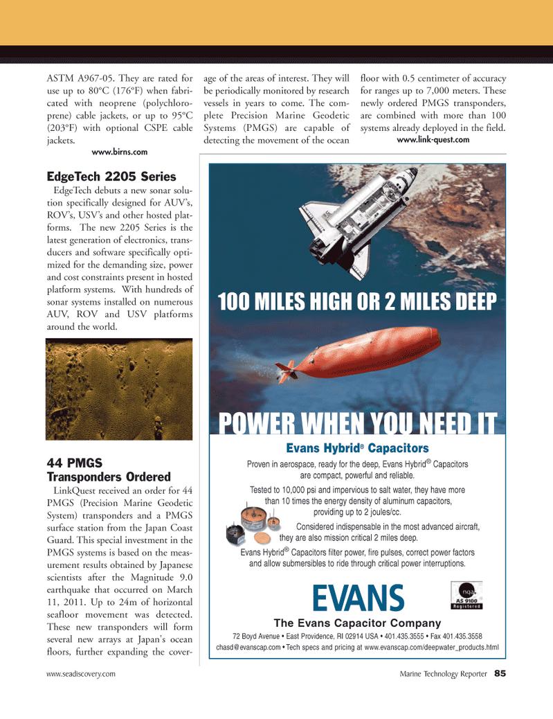 Marine Technology Magazine, page 85,  Mar 2012
