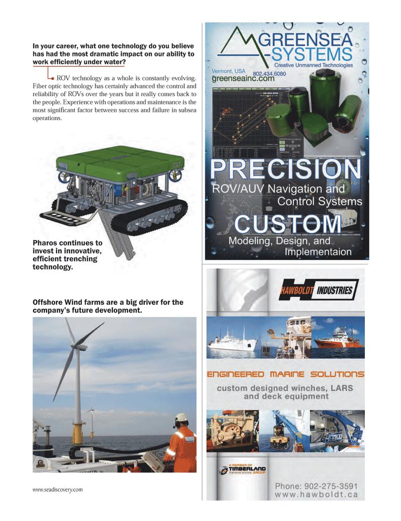 Marine Technology Magazine, page 31,  Jun 2012 One technology