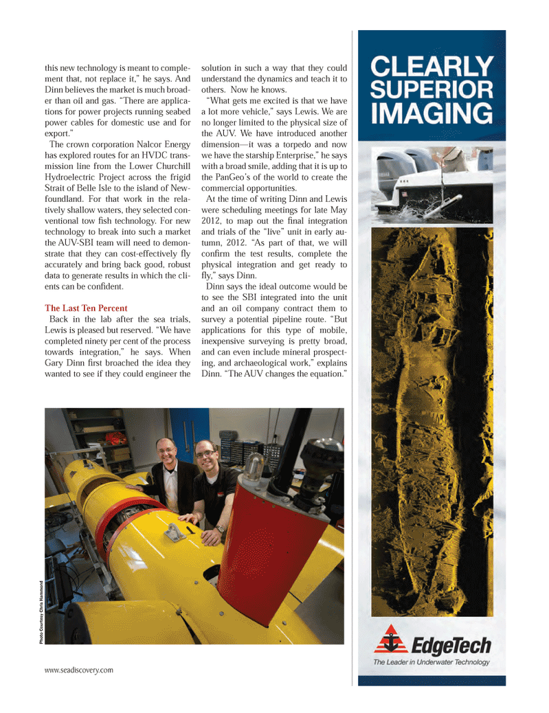 Marine Technology Magazine, page 49,  Jun 2012 oil company contract